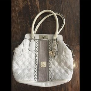 Guess purse off white